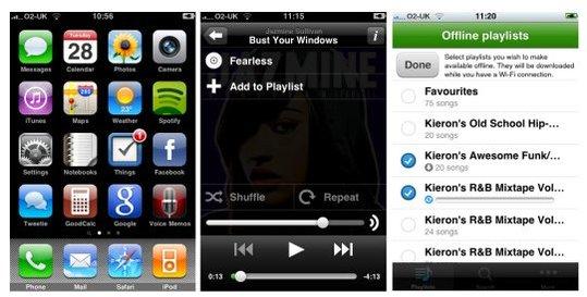 Spotify sur iPhone - Apple accepte mais ...