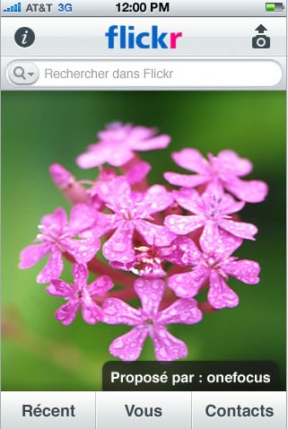 Flickr - Application iPhone officielle