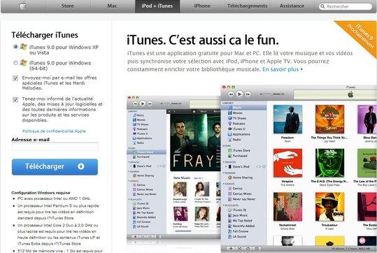 Télécharger iTunes9