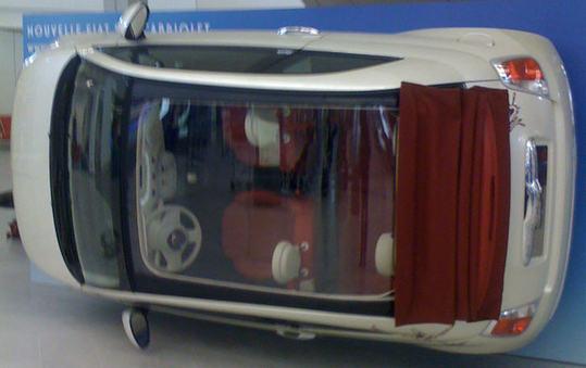 Une Fiat 500, ça se gare ... n'importe ou