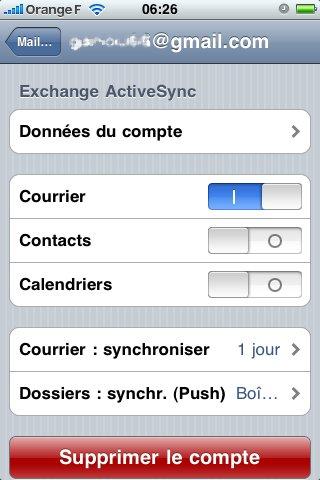 Le Push mail pour Gmail arrive ... enfin ( iPhone et windows mobile )