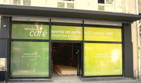 Le Windows Café de Paris - vous voulez l'adresse ?