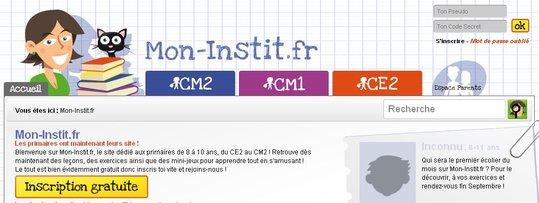 Mon-Instit.fr - Le site est officiellement en ligne