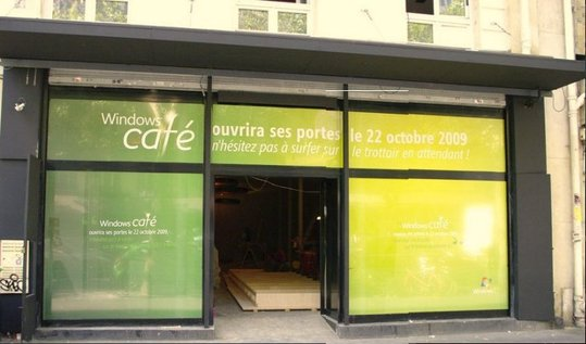 Gagnez 2 invitations pour l'inauguration du Windows Café