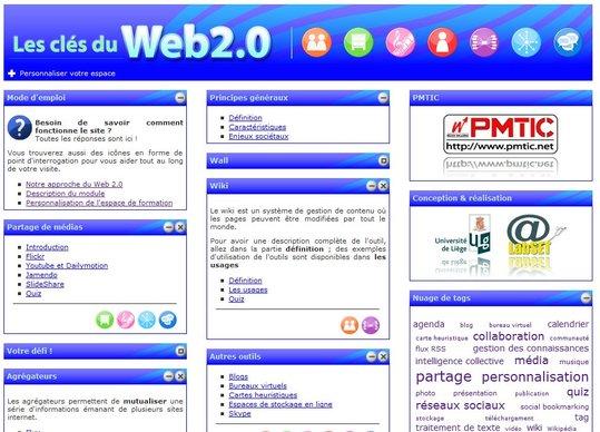 Auto Formation gratuite au Web 2.0