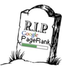 Le PageRank de Google est mort ?