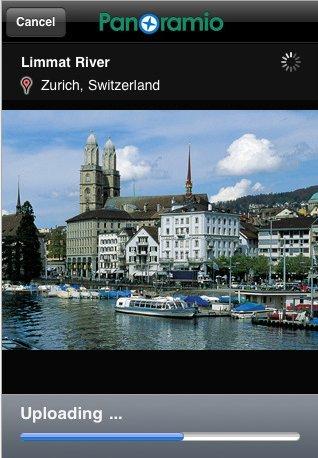 Panoramio pour iPhone - publiez vos photos sur Google Maps