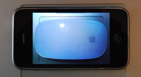 Et si on transformait un iPhone en Magic Mouse de luxe :)