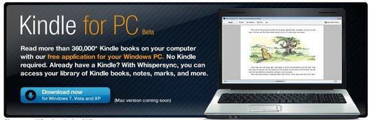 Amazon Kindle pour PC