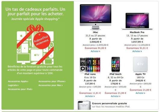 Apple Black Friday - Aujourd'hui c'est jour de solde chez Apple
