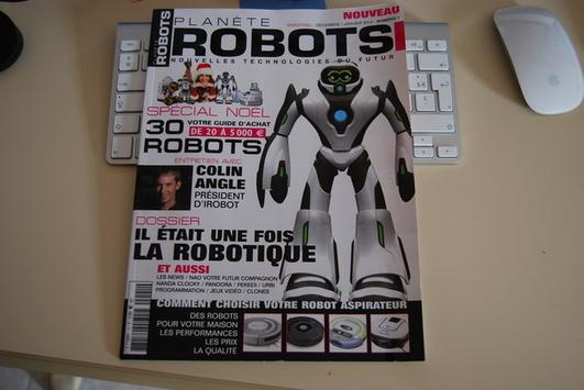 Planète Robots - Nouveau magazine presse écrite
