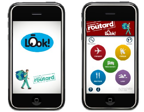 LOOK - Le Guide du Routard  sur iPhone