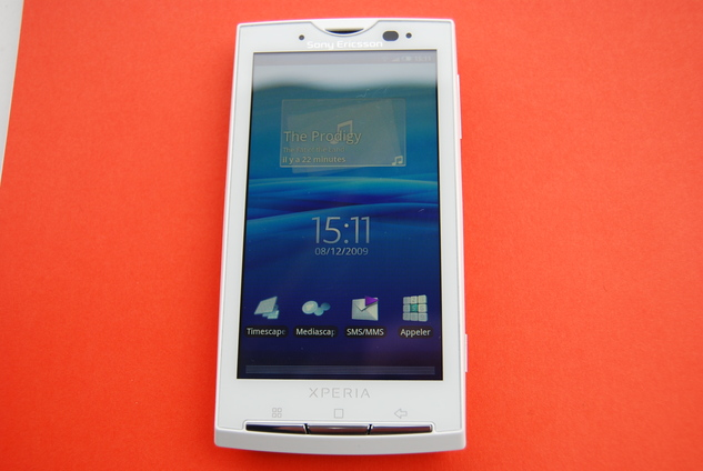 Sony Ericsson Xperia X10 - Enfin 1 concurrent Android pour l'iPhone