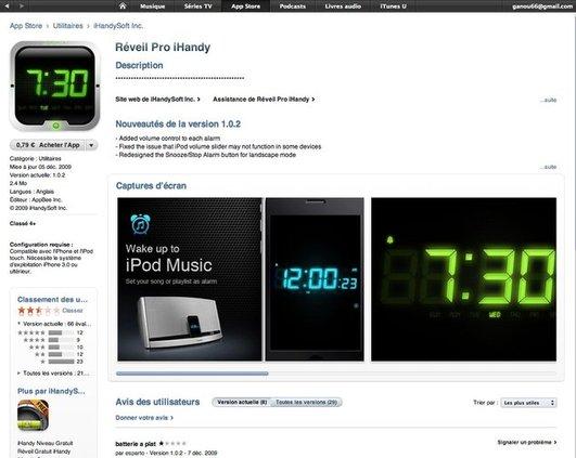 Apple App Store - Changement de design