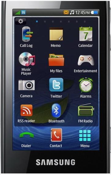 Samsung Bada - L'OS mobile de Samsung se dévoile