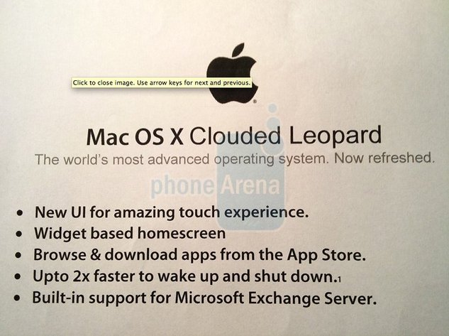 Apple iSlate - Les caractéristiques techniques de la tablette tactile