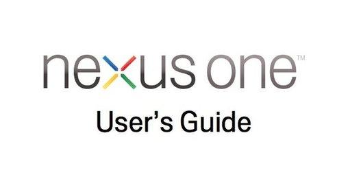 Nexus One - Le guide de l'utilisateur en PDF