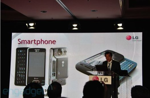 (CES 2010) LG annonce Windows Mobile 7 en 2010 ?