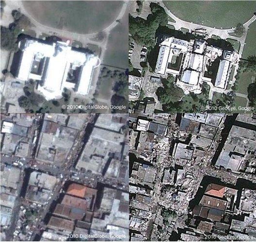 Haiti - Google offre 1 million $ et appelle aux dons