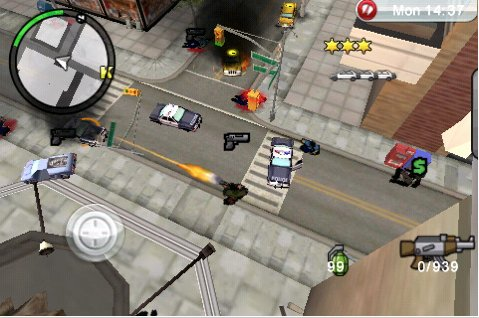 Grand Theft Auto: Chinatown Wars sur iPhone