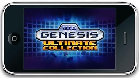 Sega Ultimate Genesis - L'émulateur Sega Officiel arrive sur iPhone