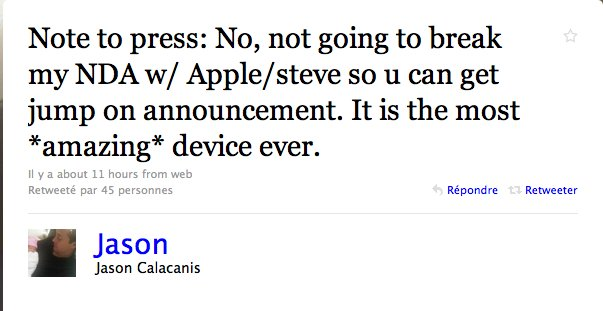 Jason Calacanis aurait osé briser la close de confidentialité avec Apple ? Rooohhh
