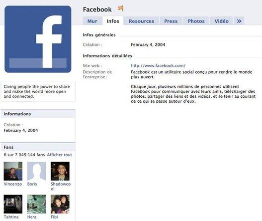 Facebook fête ses 6 ans aujourd'hui