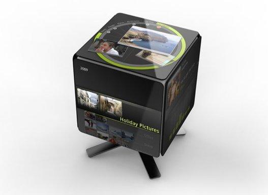 Gesture Cube - Une interface 3D interactive ( ouahhh )