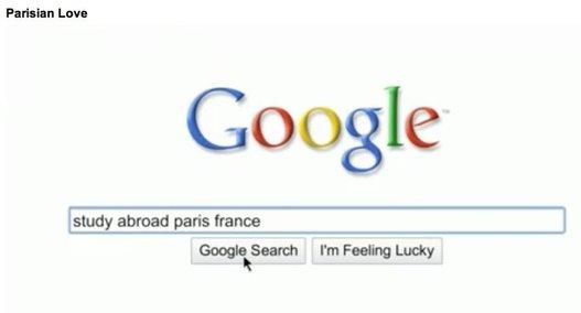 Parisian Love - La pub de Google pour le Super Bowl de demain