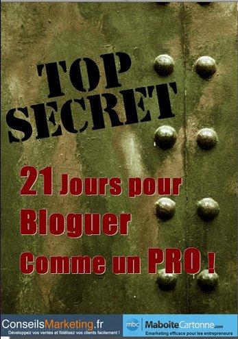 21 jours pour bloguer comme un pro - eBook gratuit