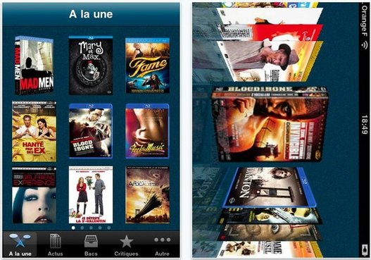 DVDFr - L'application iPhone pour l'actualité des DVD et Blu-Ray en France