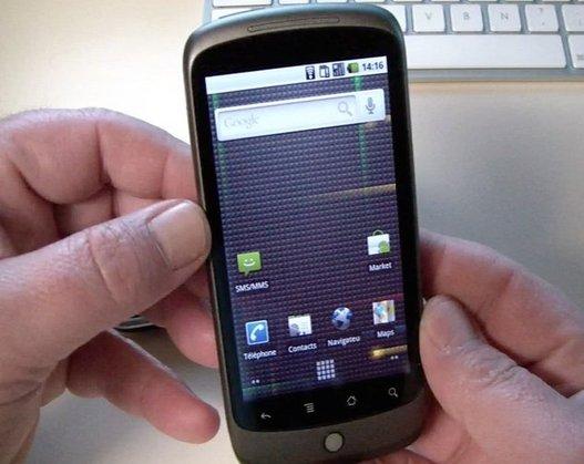 Nexus One - Petit test rapide en vidéo