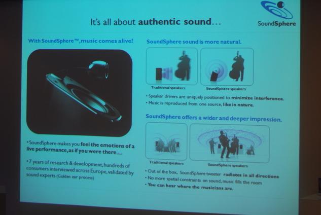 Philips SoundSphere - Le son a l'état pur