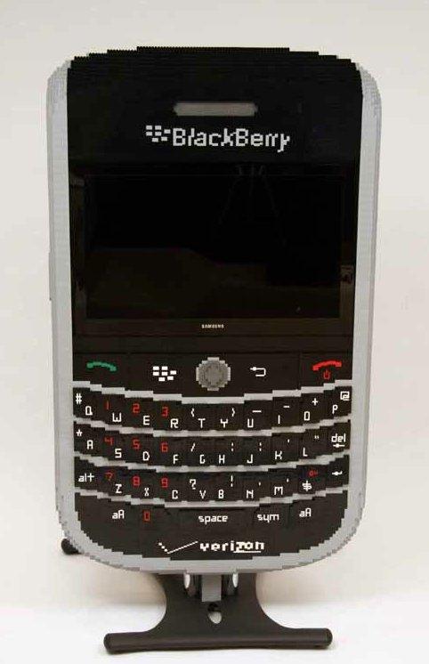 Un Blackberry de salon ... en Lego