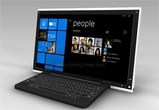 Tablette sous Windows Phone 7 - Un joli concept en vidéo