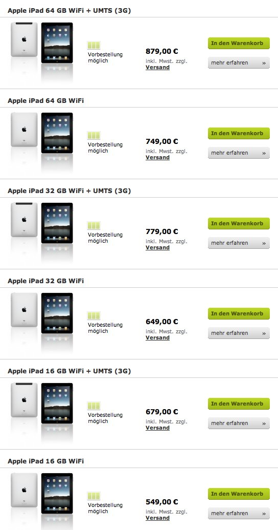 Apple se fout de nous avec les tarifs pour l'iPad