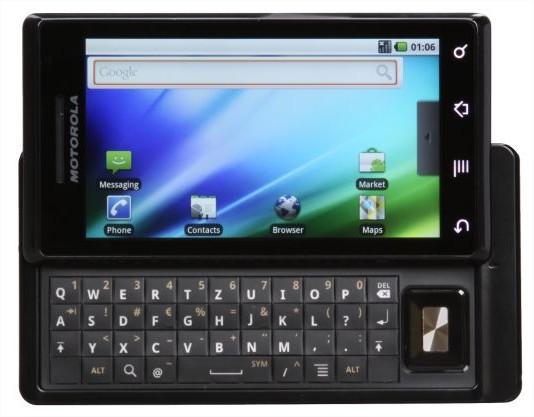 Android 2.1 pour Motorola Milestone