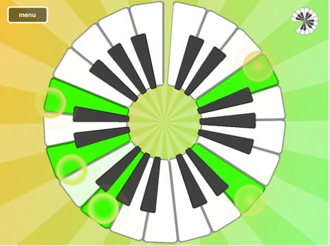 Magic Piano pour iPad - J'adore