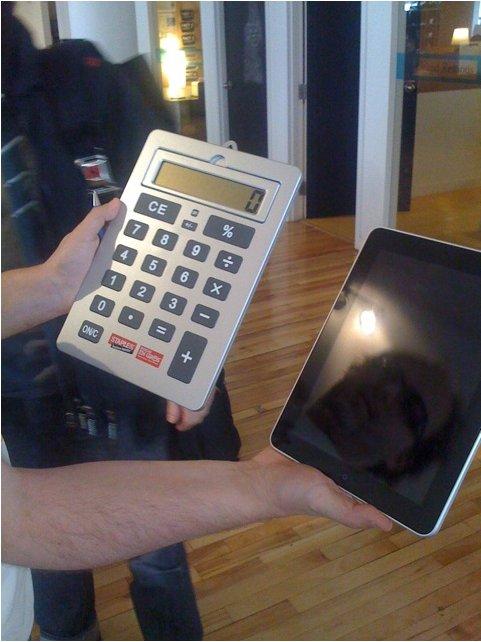 iPad en 1990 Vs iPad en 2010