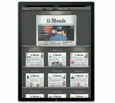 iPad, WePad, ExoPC, HP Slate - Quel avenir pour le journal papier ?