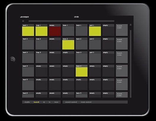 MidiPad - Quand l'iPad se transforme en sequenceur