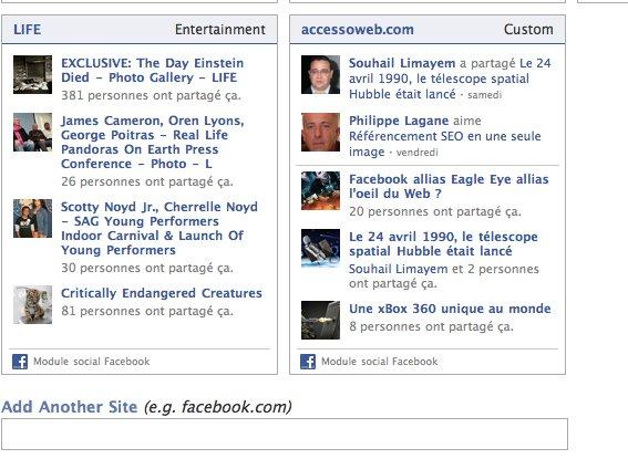 Vos amis sur Facebook aiment quoi sur Internet ?