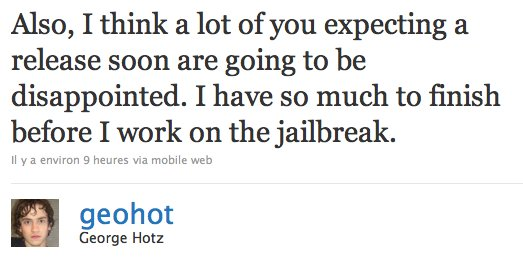 Limera1n - GeoHot prépare un Jailbreak universel ?