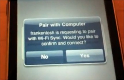 WifiSync - Synchronisation iPhone iTunes en Wifi