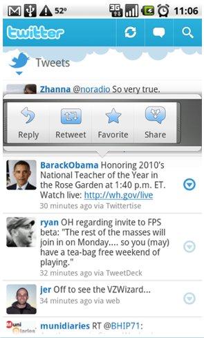 Twitter pour Android - L'application officielle