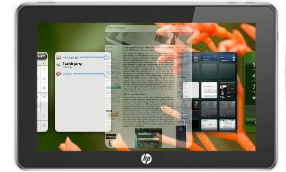 HP Slate sous webOS - Une vrai concurrence pour l'iPad