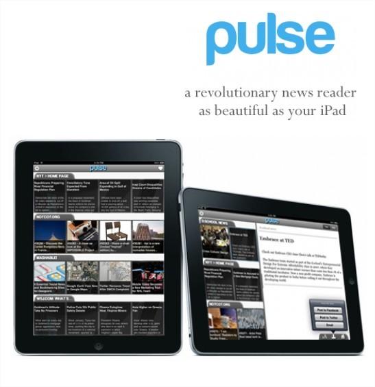 Pulse pour iPad - Une application qui donne envie