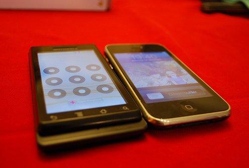 Android se vend mieux que l'iPhone aux US