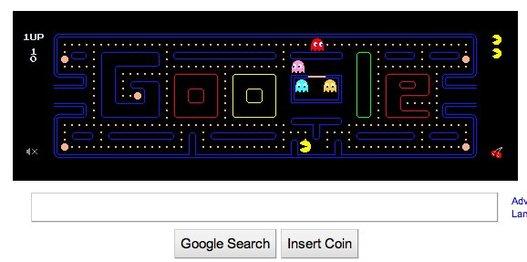 Google Pacman en téléchargement gratuit