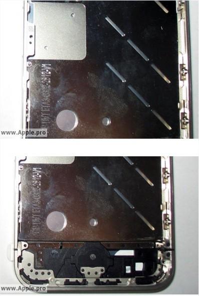 iPhone 4G - Nouvelles photos vue de l'intérieur et l'iPhone 4G blanc